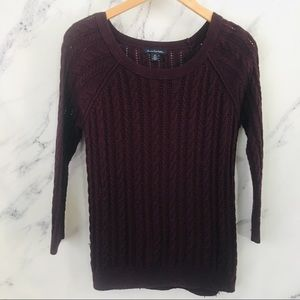 2/$25 Wool blend American eagle outfitters sweater